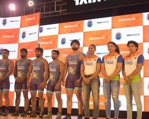 Tata Motors-Wrestling Federation of India Press Conference